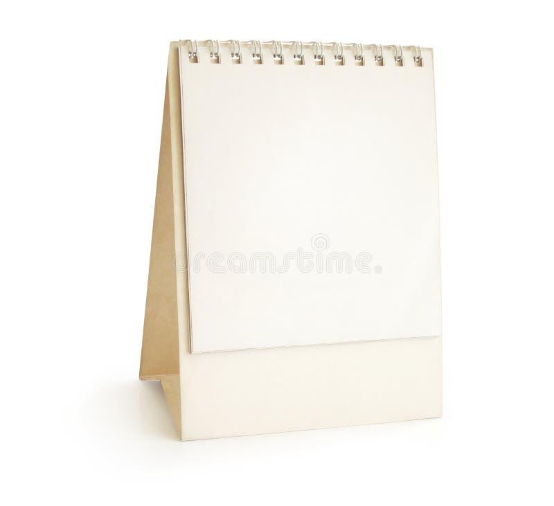 Calendario da tavolino - piramide fotografia stock
