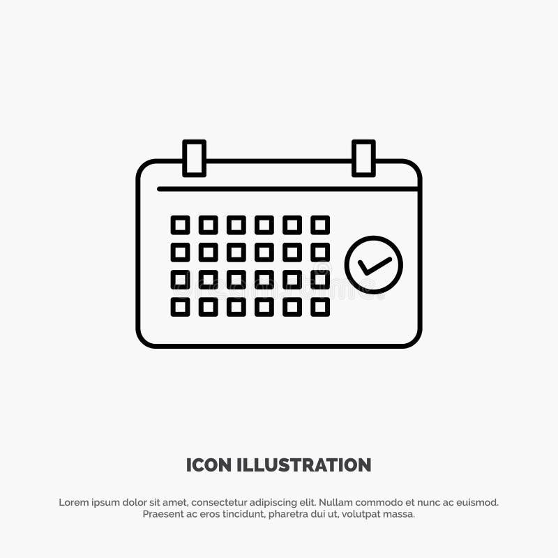 Calendario, data, mese, anno, linea di tempo vettore dell'icona royalty illustrazione gratis