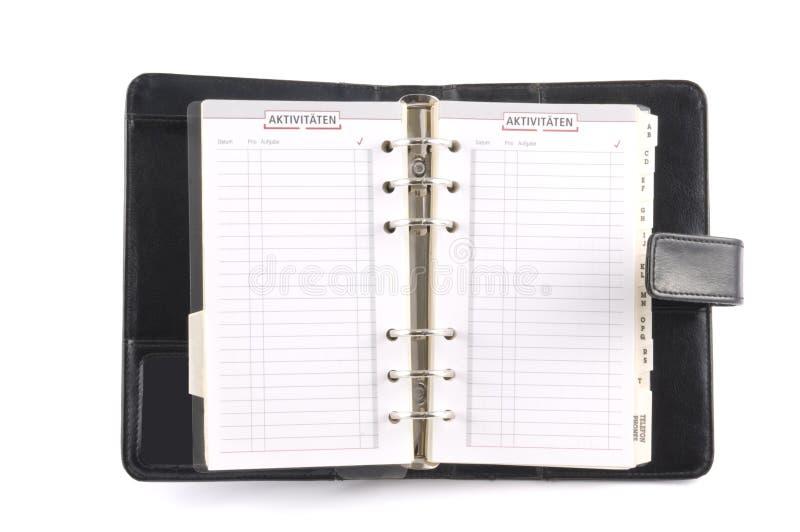 Calendario de escritorio fotos de archivo