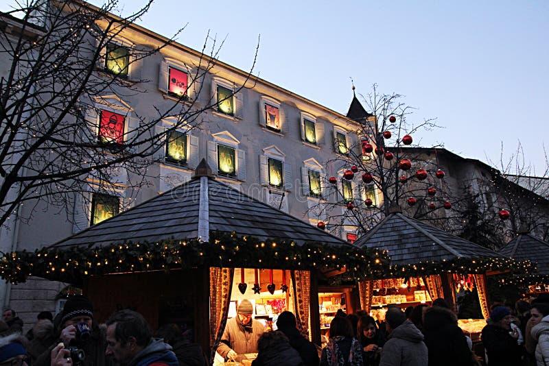 Calendario del advenimiento de Brixen imagen de archivo