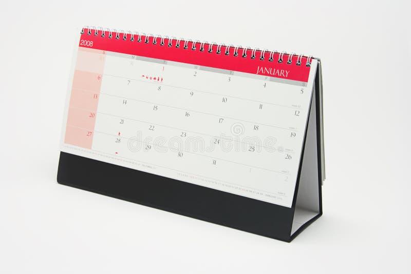 Calendario di anno 2008 immagini stock