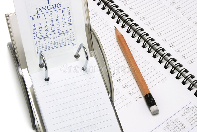 Download Calendario Di Scrittorio Con Il Pianificatore E La Matita Immagine Stock - Immagine di appunto, settimane: 7317863