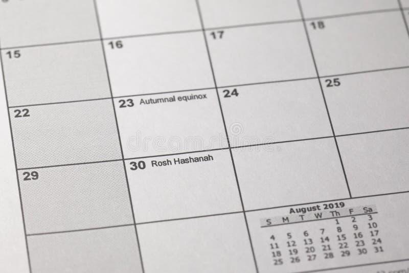 Calendario Ebreo.Immagini Di Riserva Di Calendario 2019 Di Anno La