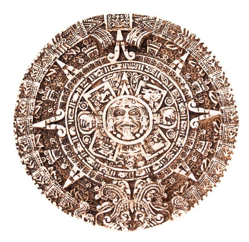 Calendario Mayan immagini stock libere da diritti