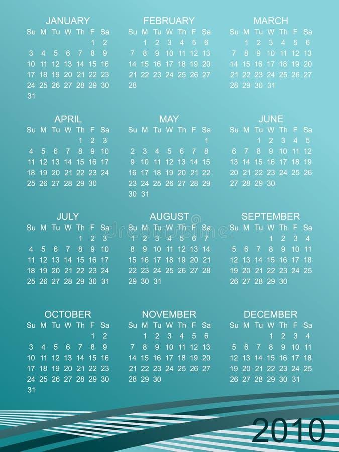 Calender For 2010 Stock Photos