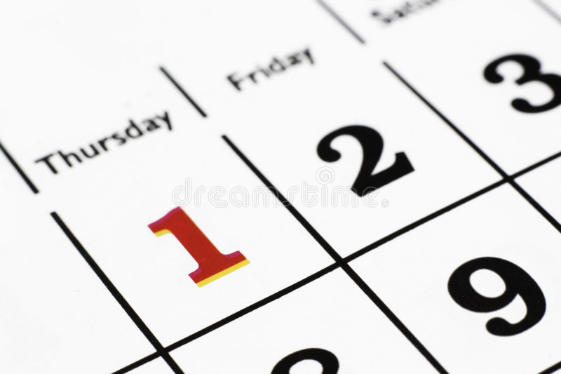 Download Calender stock photo. Image of friday, thursday, paper - 8706660