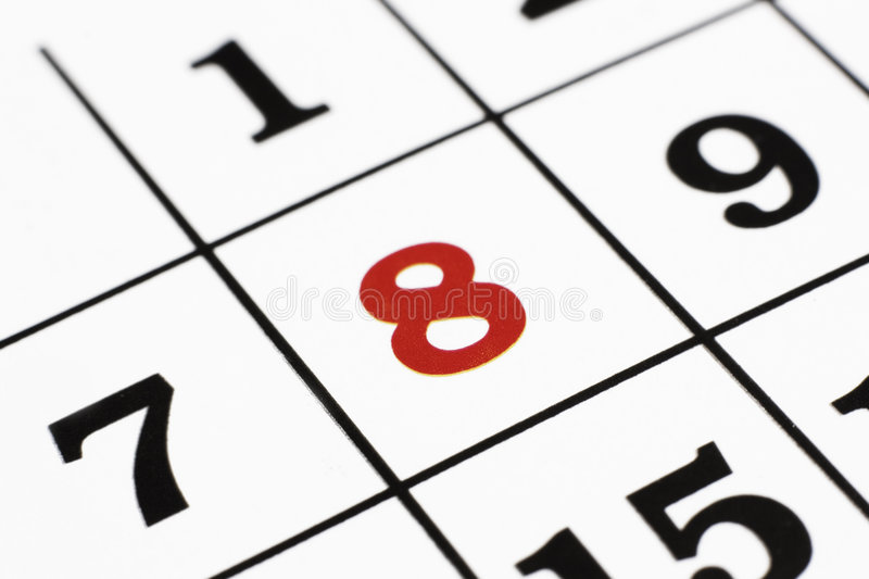 Download Calender Royalty Free Stock Image - Image: 9033876