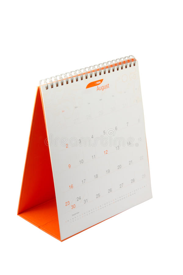 Calendrier. image stock