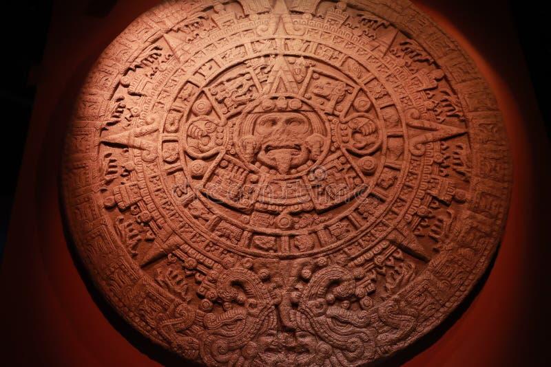 Calendrier Aztec image stock
