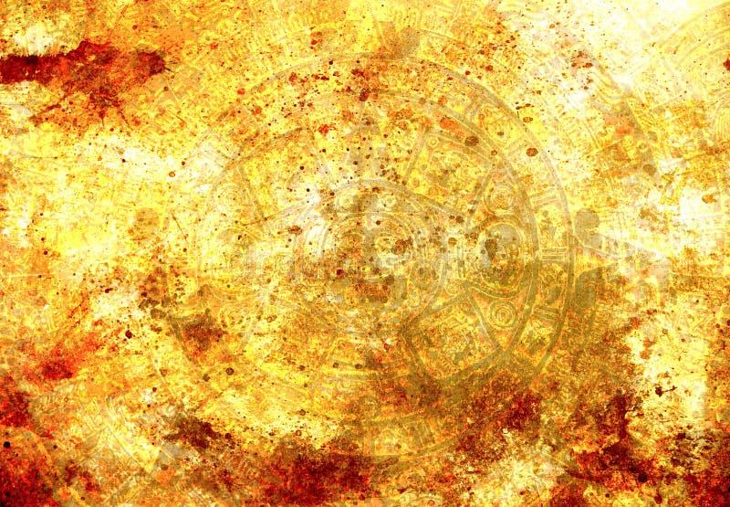 Download Calendrier Maya Antique, Fond Abstrait De Couleur Image stock - Image du homme, script: 56484789