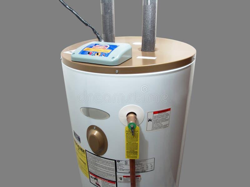 Calentador de agua eléctrico imagen de archivo libre de regalías