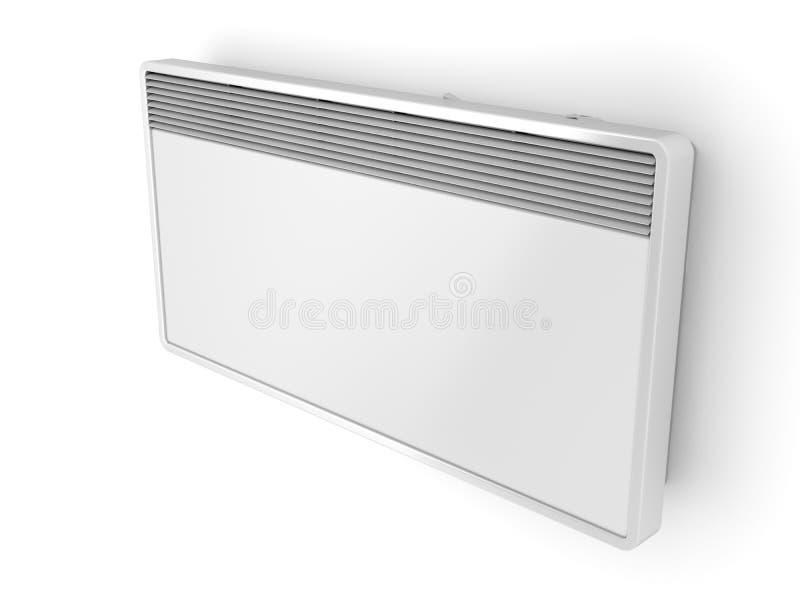 Calentador del panel eléctrico ilustración del vector