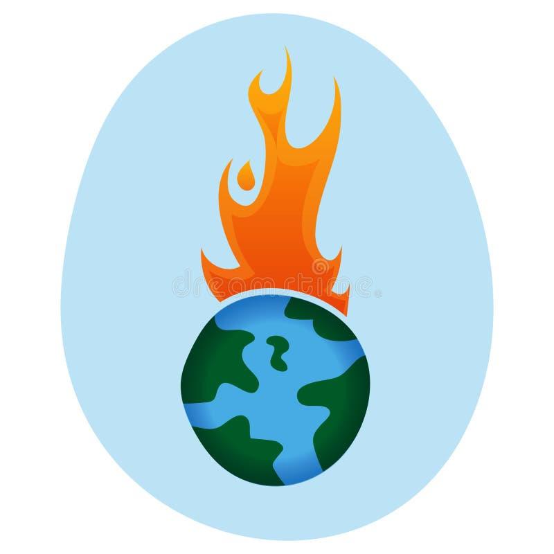 Calentamiento del planeta - libre illustration
