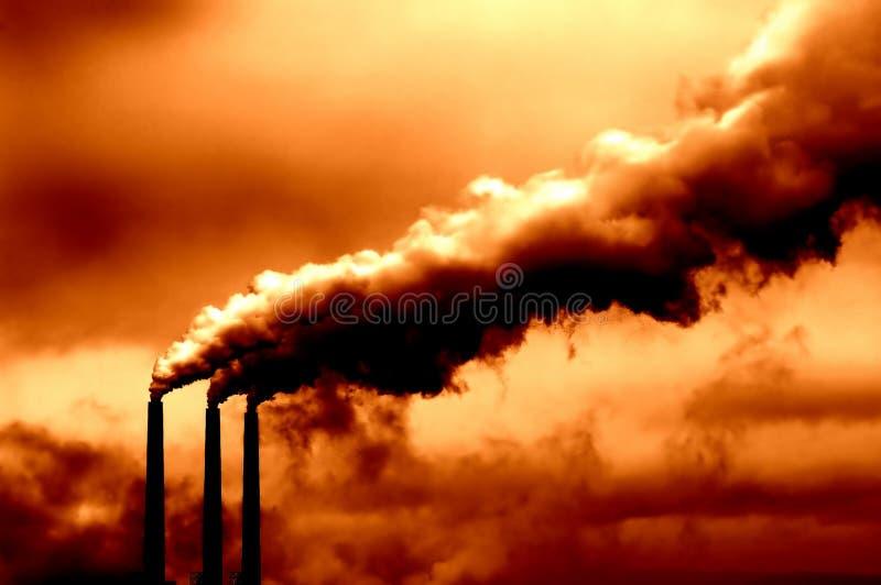 Calentamiento del planeta foto de archivo libre de regalías