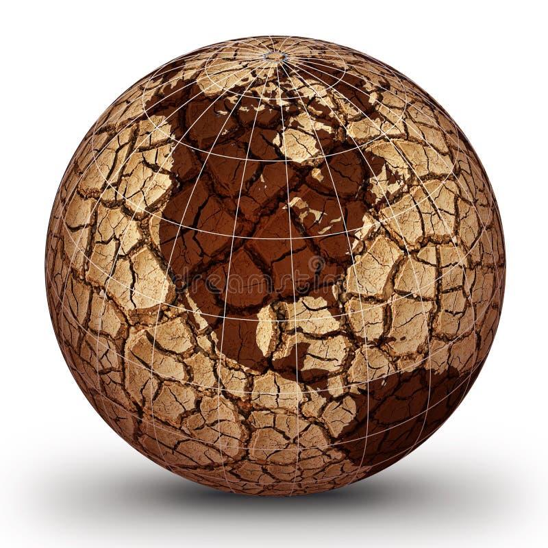 Calentamiento del planeta libre illustration