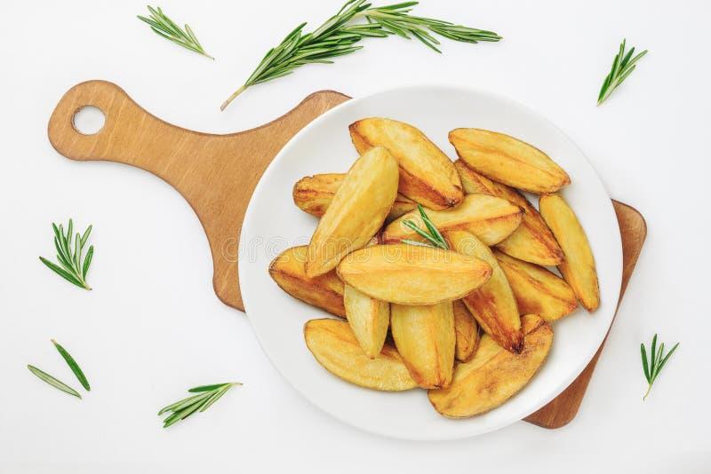 Cales frites de pomme de terre images libres de droits