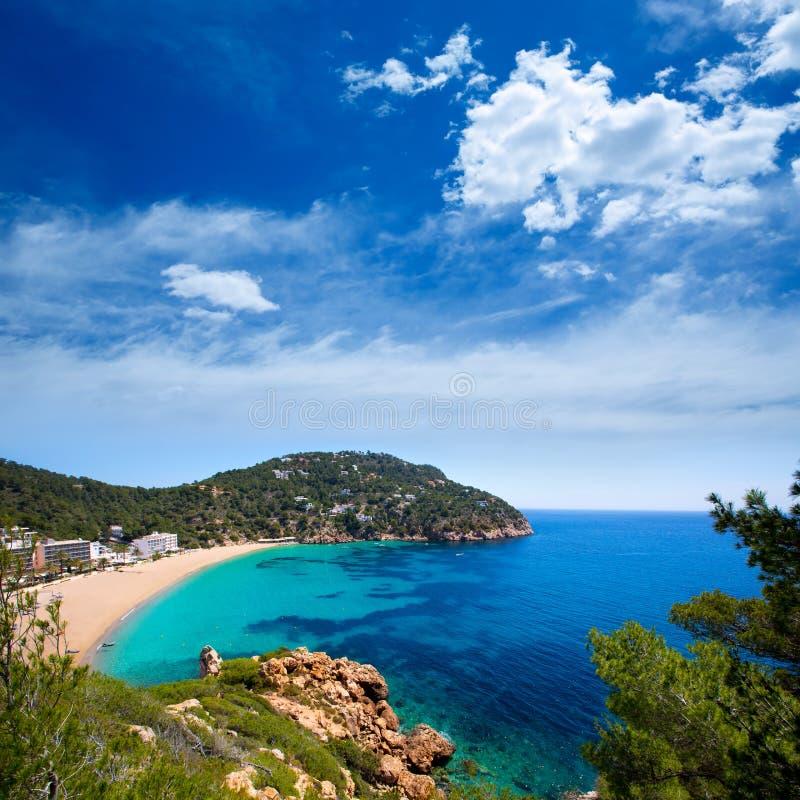 Caleta de Sant Vicent cala San Vicente San Juan de Ibiza fotos de stock royalty free
