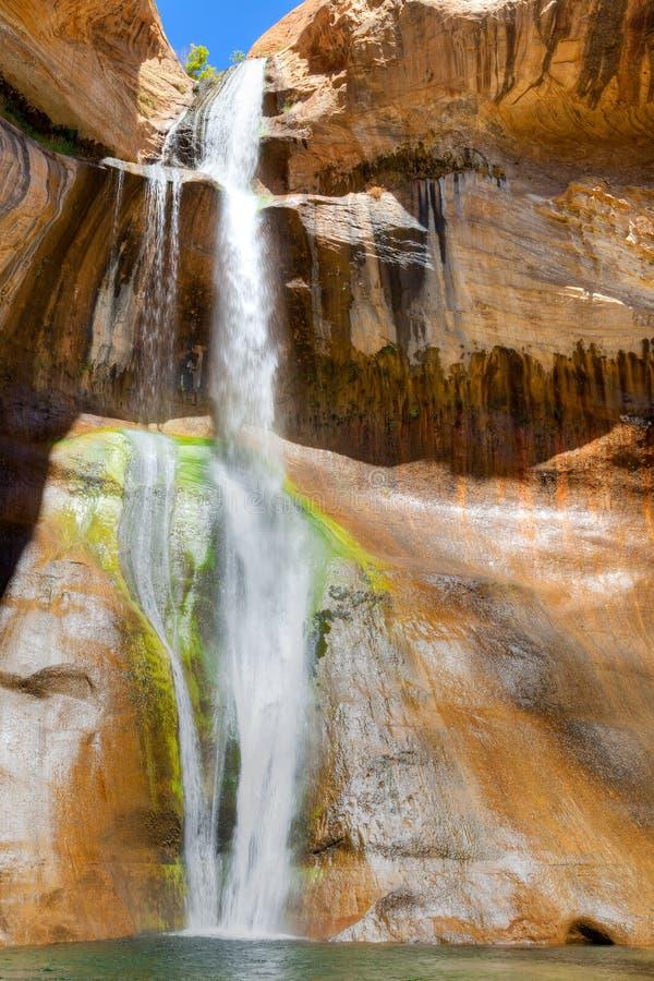 Calf Creek Falls stock images