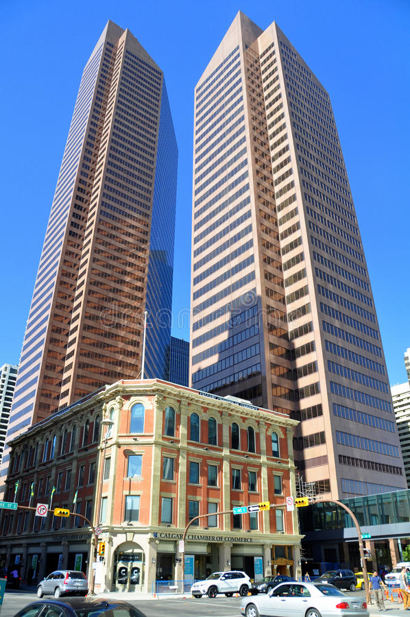 Calgary royalty free stock images