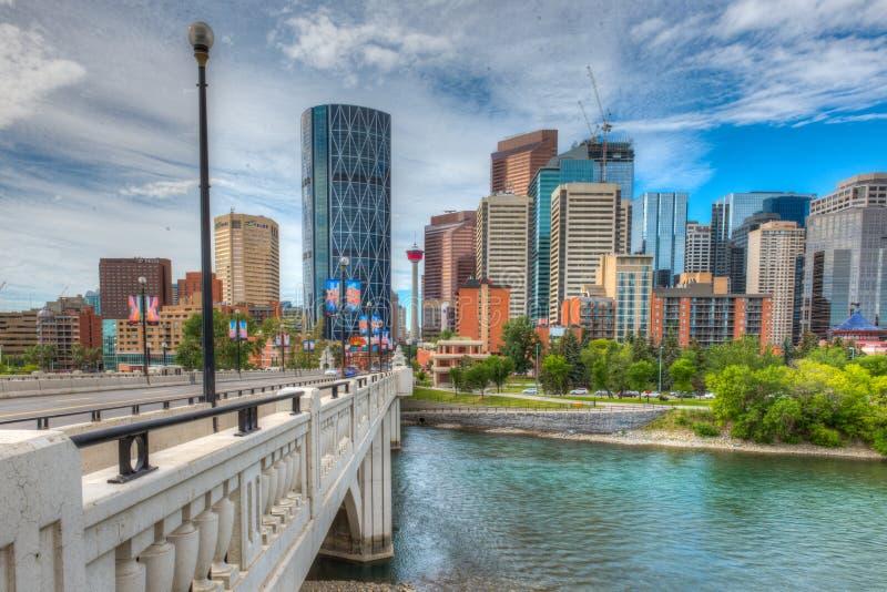 Calgary Alberta obrazy royalty free