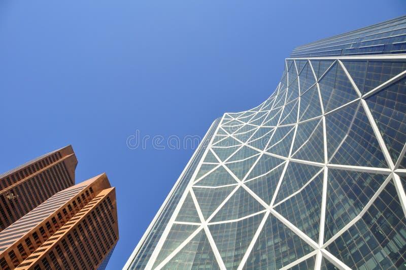 Calgary, Bow Tower stock photo
