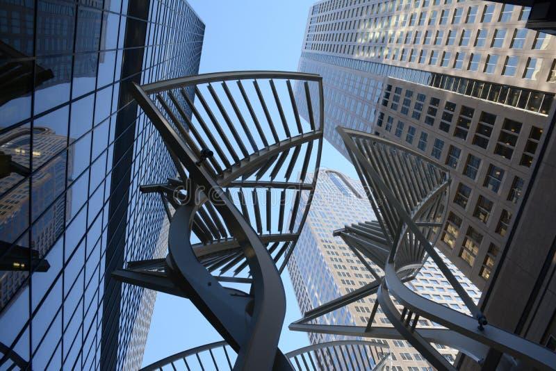 Calgary budynki obrazy royalty free