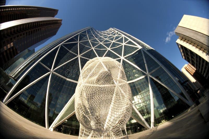 Calgary céntrica foto de archivo