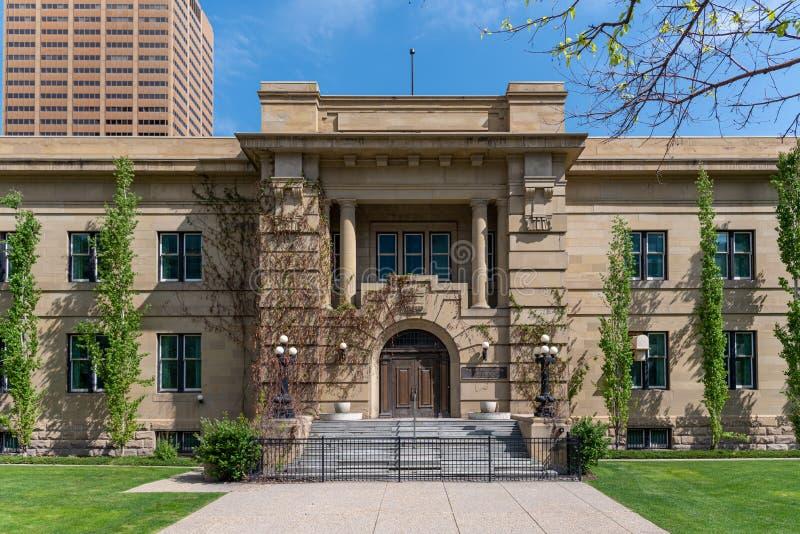 Alberta Court of Appeal in Calgary Alberta stock photos