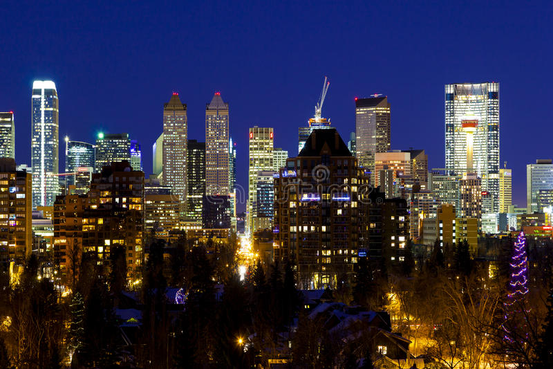 Calgary Canada royalty free stock images