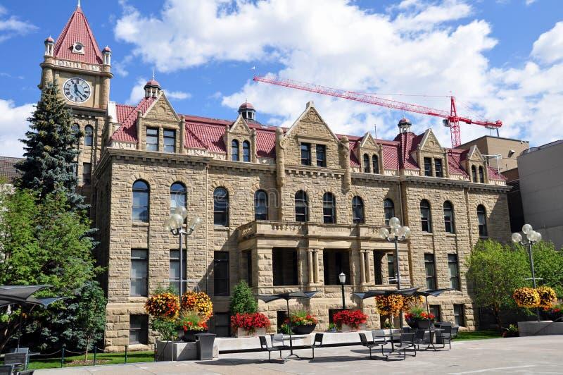 Calgary City Hall stock image