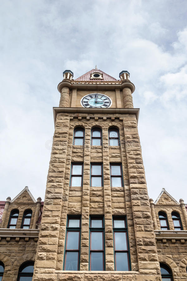 Calgary City Hall Clock Tower royalty free stock photo