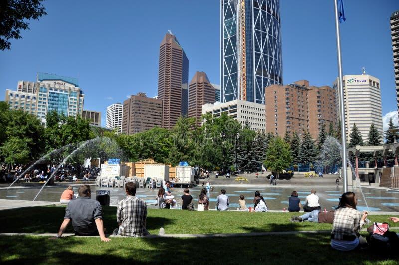 Download Calgary city park editorial stock image. Image of urban - 20607829