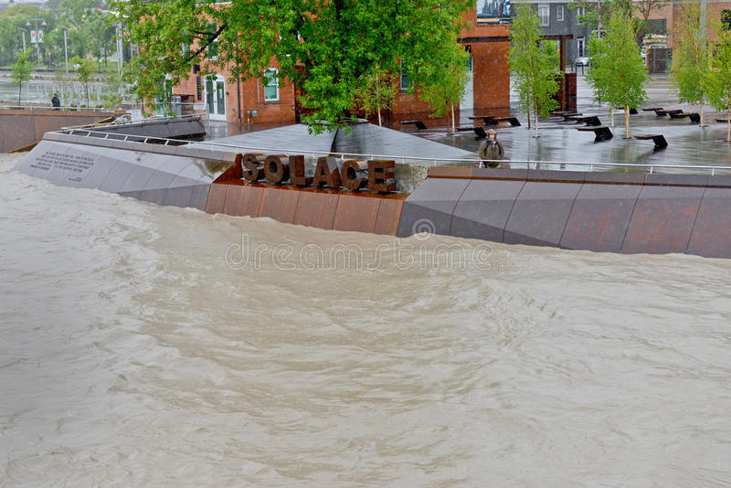 Download Calgary Flood 2013 editorial photo. Image of city, june - 31768686