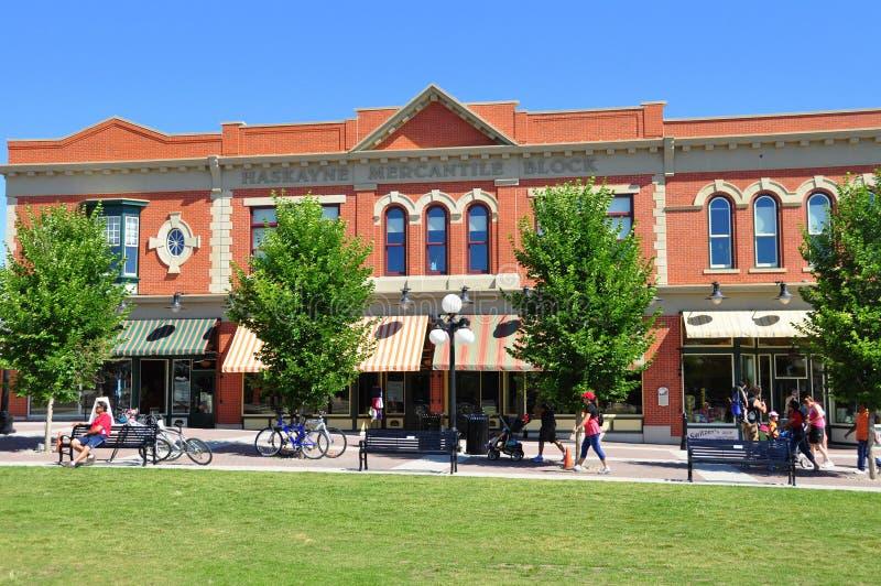 Calgary, Heritage Park royalty free stock photo