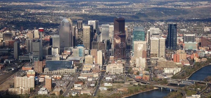 Calgary im Stadtzentrum gelegen stockfoto