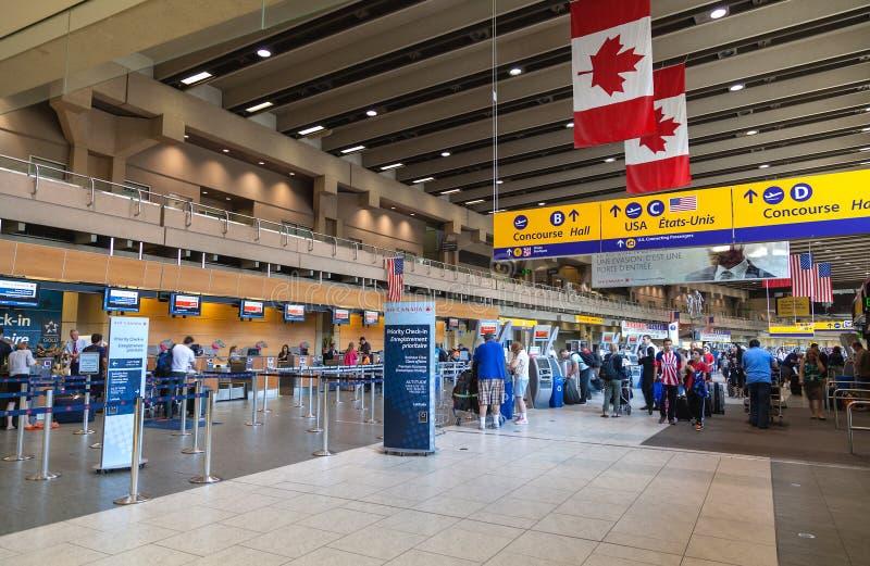 Calgary International Airport Editorial Stock Image