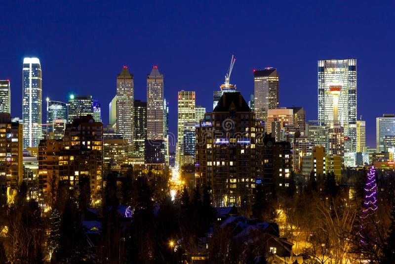 Calgary Kanada royaltyfria bilder