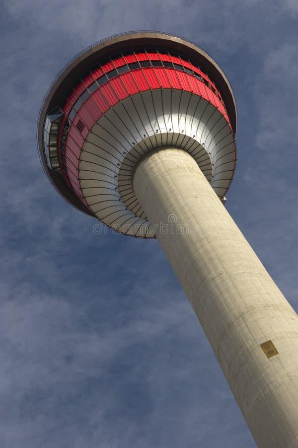 Calgary-Kontrollturm Lizenzfreies Stockbild