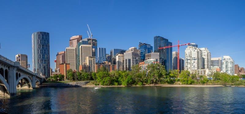 Calgary& x27; s horizon stock foto's