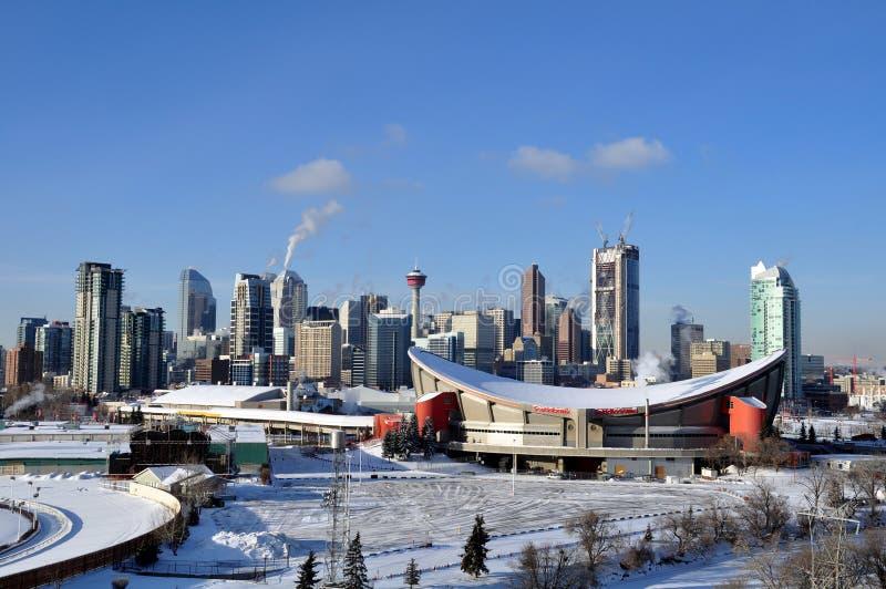 Calgary Saddledome stock photo