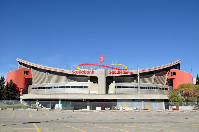 Calgary Saddledome royalty free stock photo