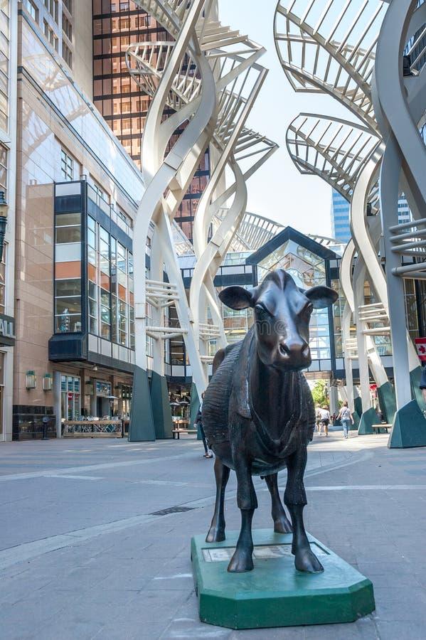 Calgary, Stephen Ave lizenzfreies stockfoto