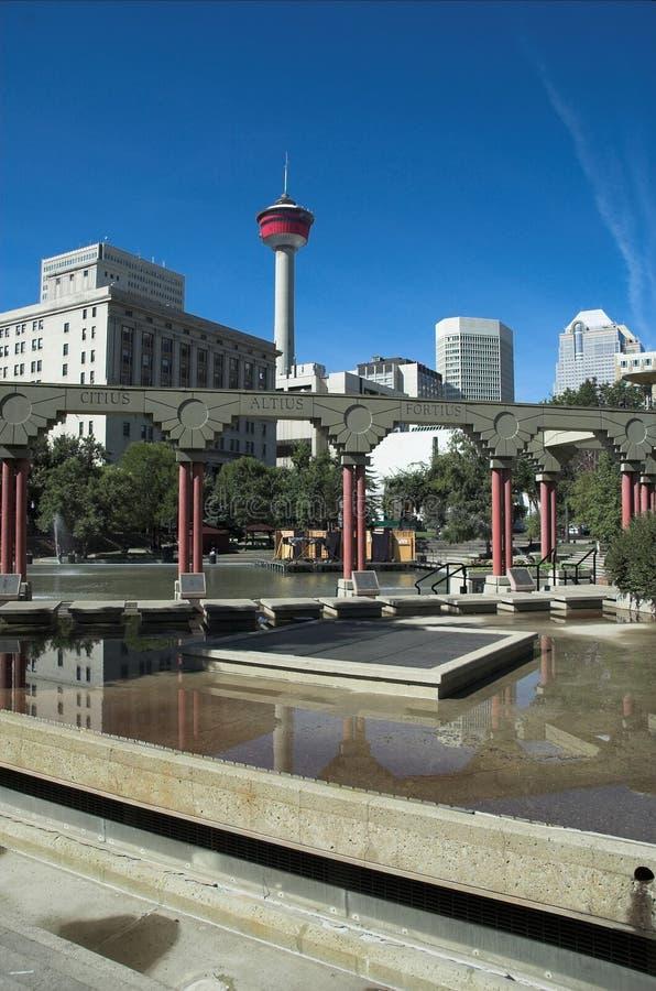 Calgary Tower royalty free stock photo