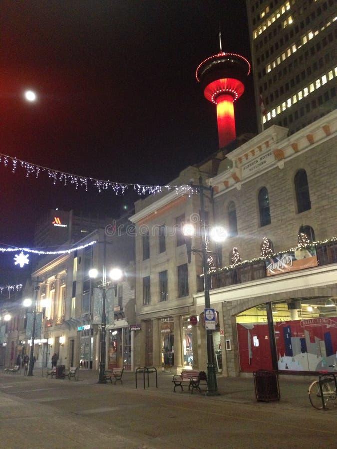 Calgary-Turm stockfotos