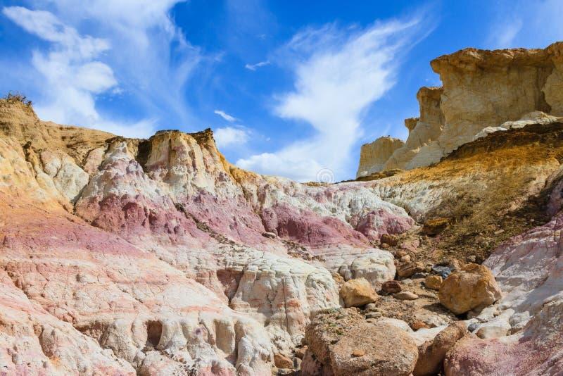 Calhan farby kopalnie - Kolorado obraz stock