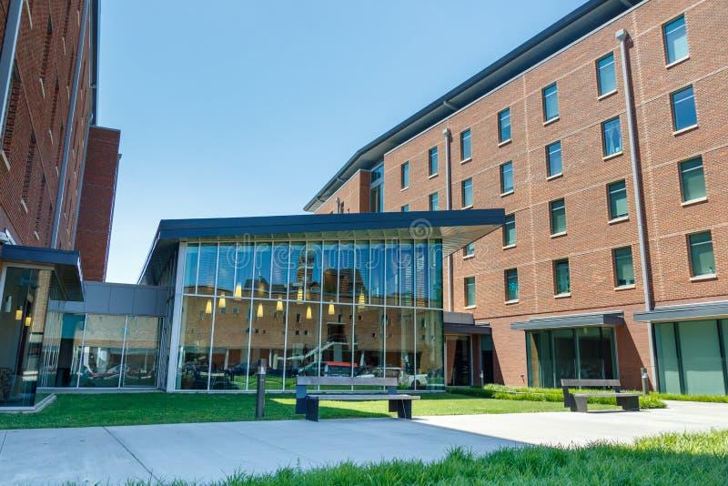Calhoun honra la universidad en Clemson fotografía de archivo