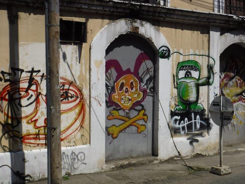 Cali grafitti royaltyfri bild