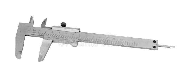 Calibrador. imagen de archivo
