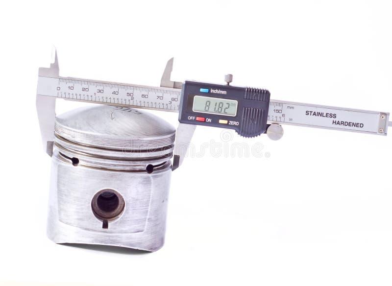 Calibrador de Digitaces fotografía de archivo
