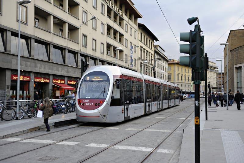 Calibratore per allineamento ad una stazione. Firenze, Toscana, Italia fotografie stock libere da diritti